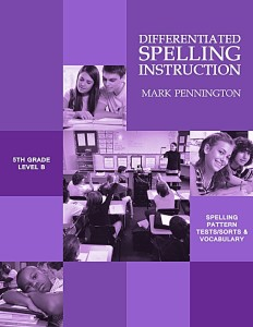 Pennington Publishing's Differentiated Spelling Instruction