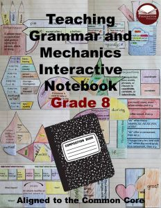 Interactive Notebook Teaching Grammar and Mechanics