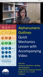How to Teach Alphanumeric Outlines