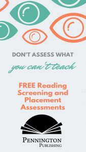Reading Screening and Placement Assessments for Grades 3-Adult