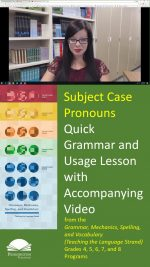 The Subject Case Pronouns