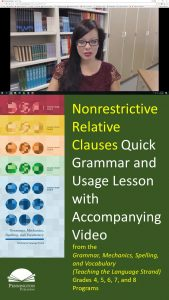 Using Nonrestrictive Relative Clauses