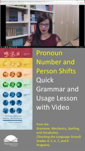 Pronoun Number or Person Shifts