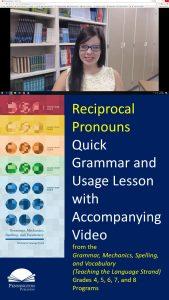 Using Reciprocal Pronouns