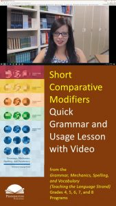 Using Short Comparative Modifiers
