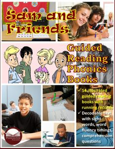 Guided Reading Phonics Books Literacy Center