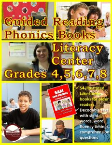 Using the Guided Reading Phonics Books Literacy Center