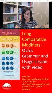 Using Long Comparative Modifiers