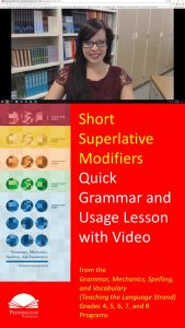 Using Short Superlative Modifiers