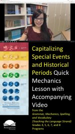 Capitalizing Special Events and Historical Periods
