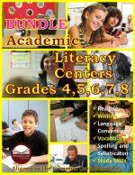 Academic Literacy Centers BUNDLES