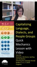 Capitalizing Languages, Dialects, People Groups