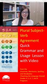 Subject-Verb Agreement with Plural Nouns