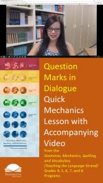 Question Marks in Dialogue and Quotations