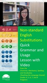 How Not to Use Non-standard English Substitutions