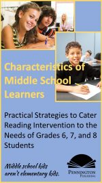 Characteristics of Middle School Students in Reading Intervention