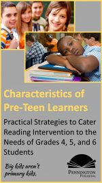Characteristics of Pre-teens in Reading Intervention