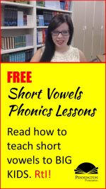 Short Vowels for RtI