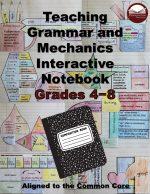 Interactive Grammar and Mechanics Notebook Grades 4-8