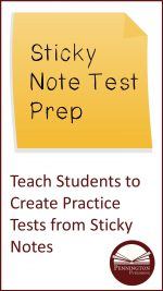 Use Sticky Notes for Test Prep