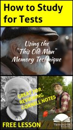 """""""This Old Man"""" Memory Strategy"""