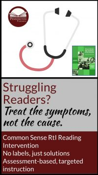 Treat Reading Problem Symptoms