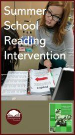 Summer School Reading Intervention Program