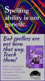 Poor Spellers Are Not Born That Way