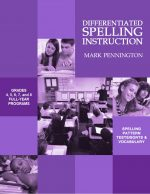Differentiated Spelling Instruction Grades 4-8