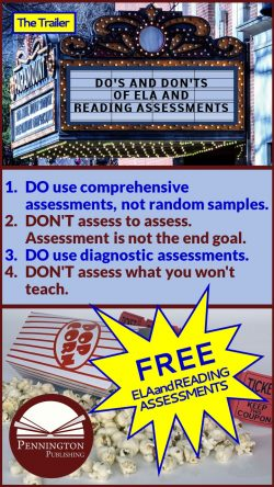 Do's and Don'ts of ELA and Reading Assessment