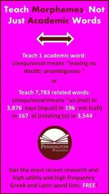 Teach Morphemes