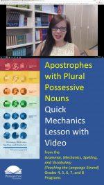 Using Apostrophes with Plural Possessive Nouns