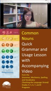 How to Teach Common Nouns