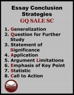 How to Teach Conclusion Strategies