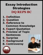 How to Teach Essay Introduction Strategies