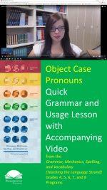 The Object Case Pronouns