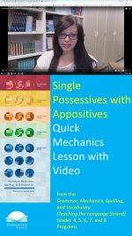 Apostrophes with Singular Possessives