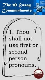 The Ten Commandments of Essays