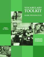 Common Core Vocabulary Toolkits Grades 4, 5, 6, 7, 8 Standards