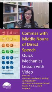 Middle Nouns of Direct Speech