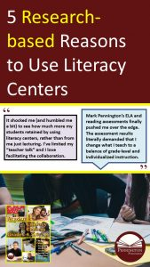 Literacy Center Research
