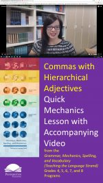 Hierarchical Adjectives with Commas