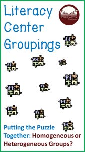 How to Group Literacy Center Students