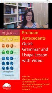 Pronoun Antecedents Problems