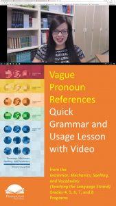 Pronouns with Vague References