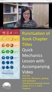 Book Chapter Titles