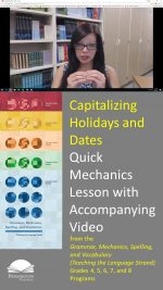 Capitalizing Holidays and Dates