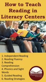 Teach Reading in Literacy Centers