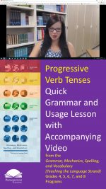 The Progressive Verb Tenses