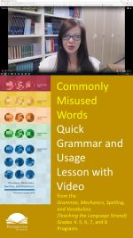 Using Commonly Misused Words